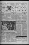 Kenyon Collegian - September 9, 1999