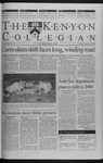 Kenyon Collegian - September 30, 1999