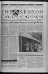Kenyon Collegian - October 7, 1999