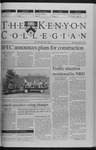 Kenyon Collegian - October 21, 1999