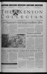 Kenyon Collegian - October 28, 1999