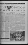 Kenyon Collegian - November 4, 1999