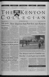 Kenyon Collegian - November 18, 1999