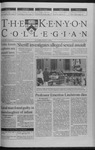 Kenyon Collegian - December 9, 1999