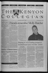 Kenyon Collegian - January 27, 2000
