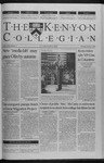 Kenyon Collegian - February 3, 2000