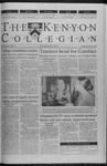 Kenyon Collegian - February 10, 2000