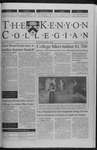 Kenyon Collegian - February 17, 2000