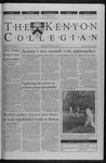 Kenyon Collegian - February 24, 2000