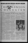 Kenyon Collegian - March 2, 2000