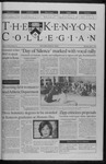 Kenyon Collegian - April 6, 2000
