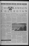 Kenyon Collegian - April 13, 2000