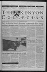 Kenyon Collegian - April 20, 2000