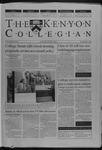 Kenyon Collegian - May 5, 2000