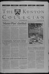 Kenyon Collegian - September 7, 2000
