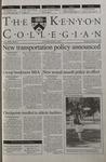 Kenyon Collegian - September 14, 2000