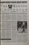 Kenyon Collegian - September 21, 2000