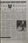 Kenyon Collegian - September 21, 2000