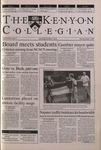 Kenyon Collegian - October 5, 2000