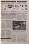 Kenyon Collegian - October 5, 2000