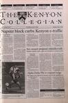 Kenyon Collegian - October 19, 2000