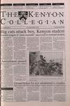 Kenyon Collegian - October 26, 2000