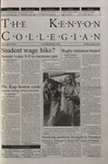 Kenyon Collegian - November 2, 2000