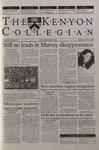 Kenyon Collegian - November 16, 2000
