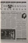 Kenyon Collegian - December 7, 2000