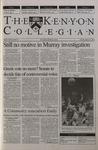 Kenyon Collegian - January 25, 2001