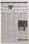 Kenyon Collegian - February 8, 2001