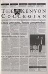Kenyon Collegian - February 8, 2001
