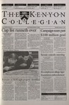 Kenyon Collegian - February 15, 2001