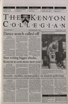 Kenyon Collegian - February 22, 2001