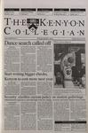 Kenyon Collegian - February 22, 2001