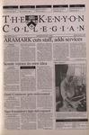 Kenyon Collegian - March 1, 2001