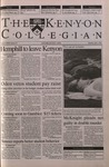 Kenyon Collegian - April 5, 2001