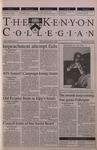 Kenyon Collegian - April 26, 2001