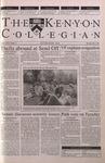 Kenyon Collegian - May 3, 2001