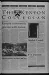 Kenyon Collegian - September 13, 2001