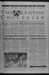 Kenyon Collegian - September 20, 2001