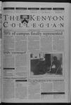 Kenyon Collegian - October 4, 2001