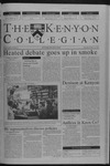 Kenyon Collegian - October 25, 2001