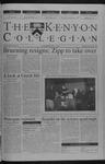Kenyon Collegian - December 6, 2001