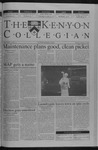 Kenyon Collegian - January 24, 2002
