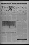Kenyon Collegian - February 28, 2002