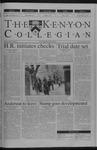 Kenyon Collegian - March 28, 2002