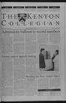 Kenyon Collegian - April 4, 2002