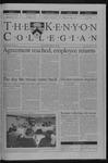 Kenyon Collegian - April 11, 2002