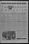 Kenyon Collegian - April 25, 2002